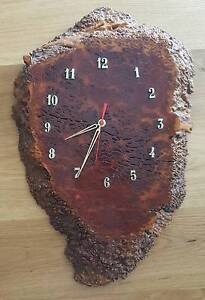 Hand Made Hardwood Clock Ryde Area Preview
