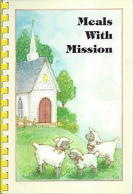 *MIDDLETOWN RI 1998 UNITED CONGREGATIONAL CHURCH COOK BOOK *MEALS WITH MISSION