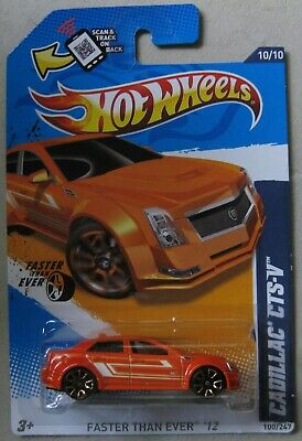 Hot Wheels 2012 Faster Than Ever CADILLAC CTS-V 10/10 100/247