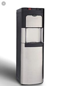 Viva self cleaning bottom hot, cold water cooler