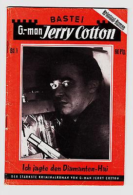 Jerry Cotton Nr. 1 - Erstauflage  im sehr guten Zustand - große Rarität !!