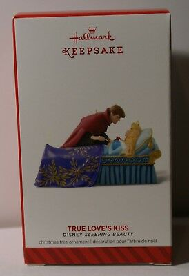 (2014 Hallmark Christmas Ornament TRUE LOVE'S KISS Disney Sleeping Beauty MAGIC )
