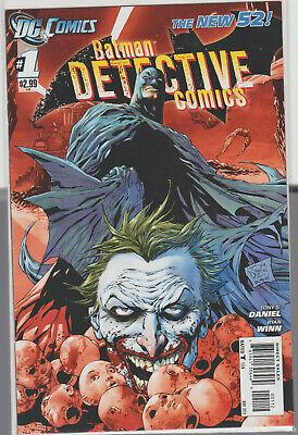 Detective Comics 1 NEW 52 2011 2nd Print NM BATMAN Batgirl JOKER 1st