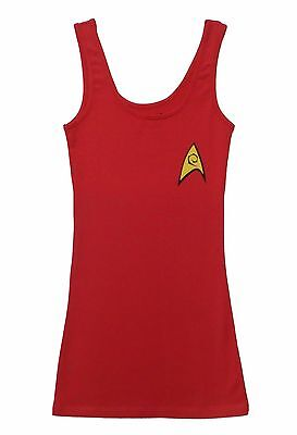 Star Fleet Uniforms (Star Trek Star Fleet Red Communication Uniform Tunic Tank)