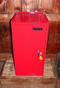 matco tool hang on side cabinet locker box chest 1 drawer