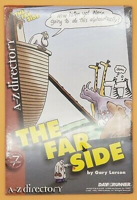 The Far Side Day Runner Refill A-z Directory 5.5 X 8 Fits 3 7 Ring Binders