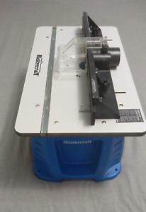 Almost new - Mastercraft 9.5A Fixed-Base Router and Router Table
