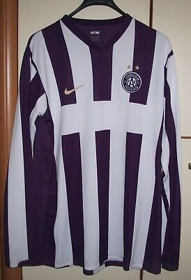 FK Austria Wien 2007-2008 NIKE Player Issue Home Football Shirt  Jersey image