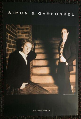 SIMON AND GARFUNKEL 24x36 Columbia Legacy original record store promo poster &