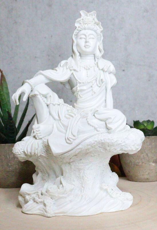 The Water And Moon Goddess Kuan Yin Bodhisattva Statue Immortal Deity Of Mercy