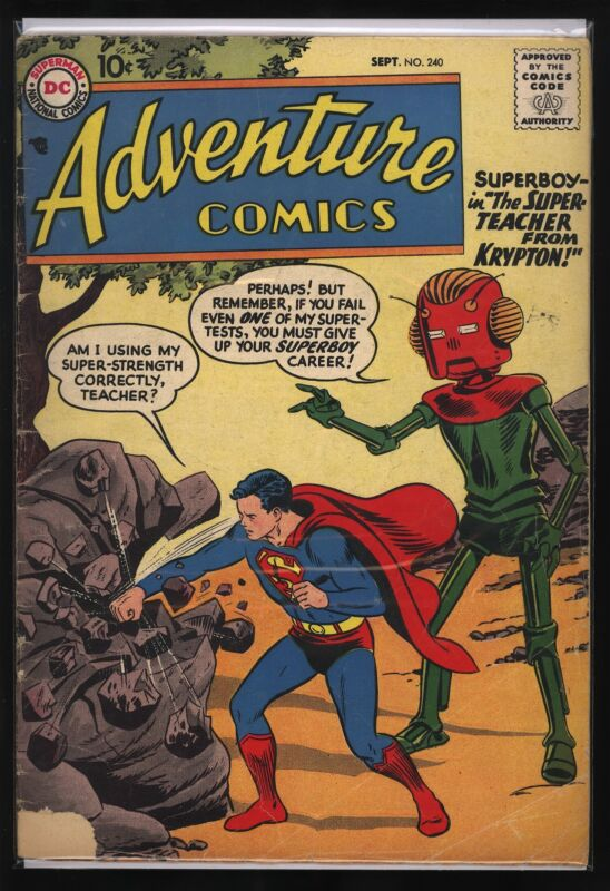 ADVENTURE COMICS #240