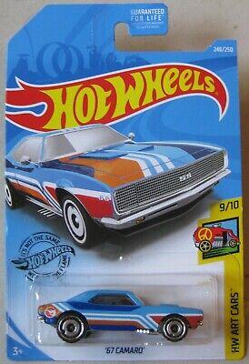 Hot Wheels 2019 Treasure Hunt '67 CAMARO 9/10 248/250 Q Case VHTF