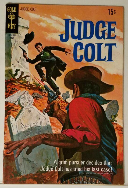 JUDGE COLT NO. 3 - GOLD KEY - MAY 1970