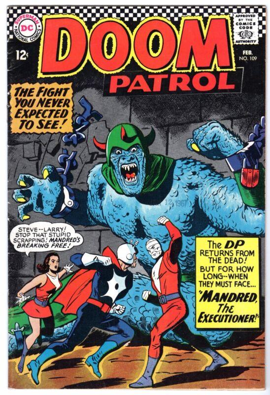 Doom Patrol #109, Very Fine Condition*