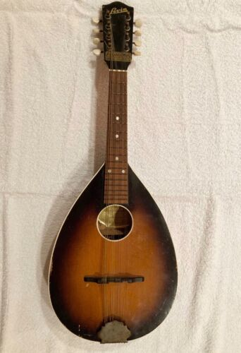 1942 Levin Mandolin model 347 sunburst finish flamed back made in Sweden
