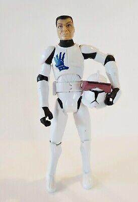 "Star Wars Clone Wars Clone Trooper Echo Action Figure Hasbro 2008 3.75"""
