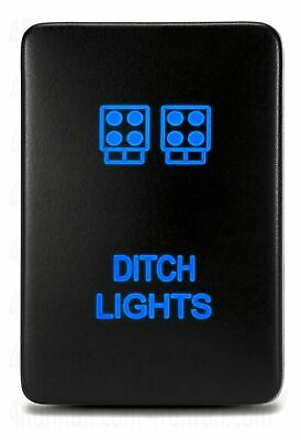 Ditch Lights Symbol 2 CH4X4 Push Switch for Toyota Tacoma 3rd Gen Blue LED
