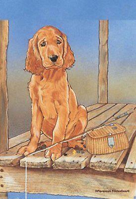 Best of Breed Garden Flag IRISH SETTER Puppy Pipsqueak Produ