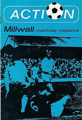 MILLWALL V CHARLTON ATHLETIC  DIVISION TWO 30/8/71