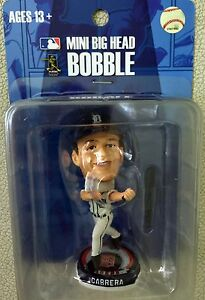 Miguel Cabrera Detroit Tigers Forever Collectibles Mini Big Head Bobblehead