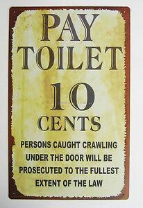 Funny Bathroom Signs EBay