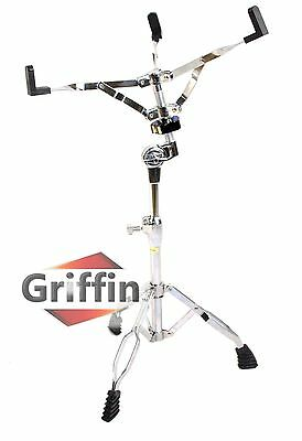 Snare Drum Stand - Griffin Chrome Hardware Percussion Tom Holder Mount Adapter
