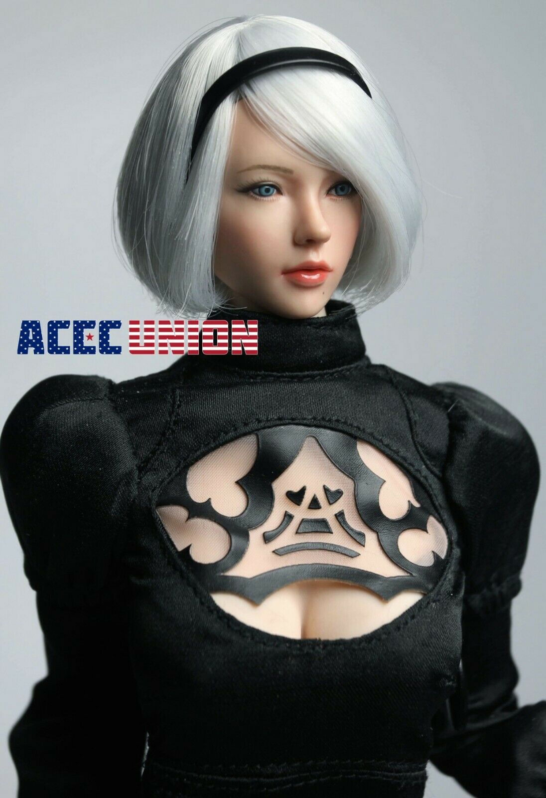 "1//6 Nier Automata YoRHa No.2 Type B Head Sculpt For 12/"" SUPERDUCK SET026 Figure"