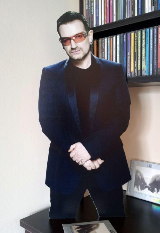 "U2 Bono Display Stand Standee 22"" Figure Elevation One"