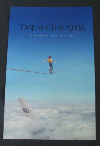 DREAM THEATER Album poster DRAMATIC TURN OF EVENTS original record store promo 2