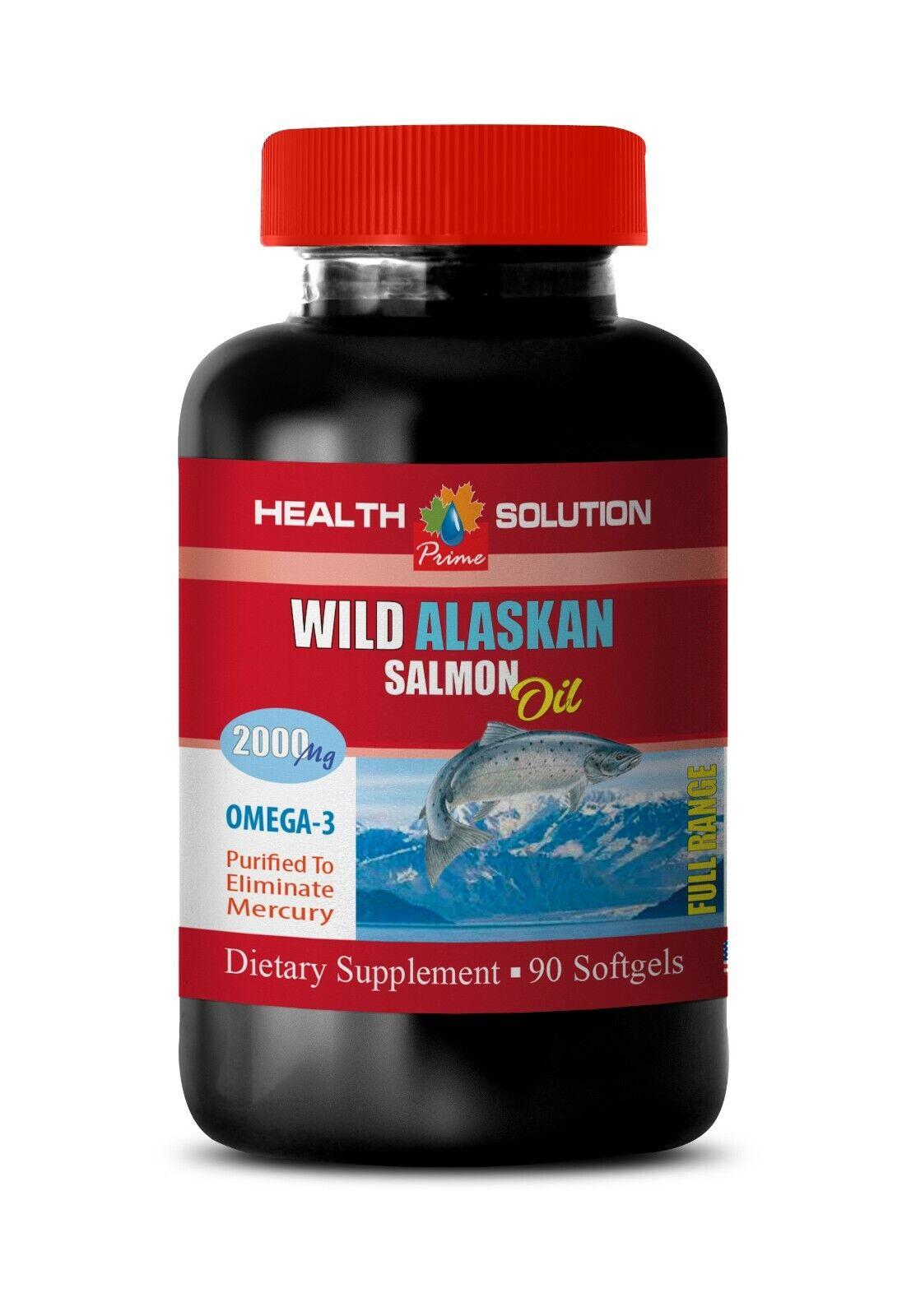 fish oil pills - ALASKAN SALMON OIL 2000MG - lower cholester