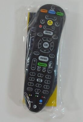 Brand New At T Uverse U Verse S10 S4 Universal Remote Control Oem Instructions