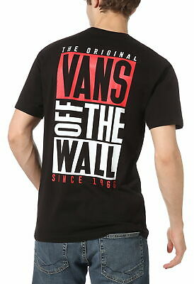 VANS New Stax T-Shirt In Black
