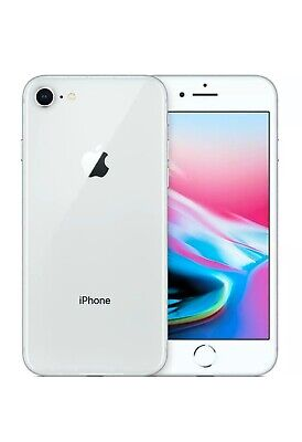 iPhone 8 Plus 256GB unlocked MINT Silver + Best Rated accessories/nw