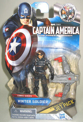 Marvel Universe Captain America First Avenger Comic Series Winter Soldier 4 3.75