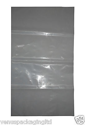 50 Heavy Duty Virgin Clear/Builder/Rubble/Brick Sacks 450 Gauge 20'' x 30