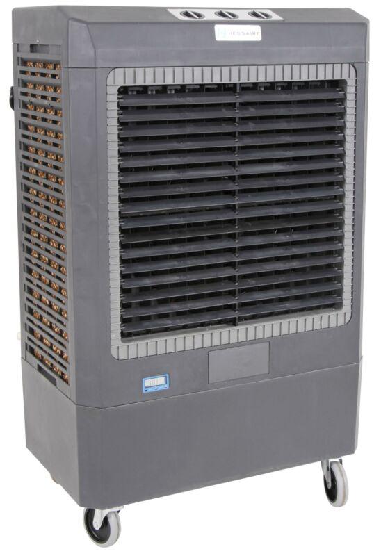 Hessaire MC61V Compact Portable 5,300 CFM Indoor/Outdoor Gray Evaporative Cooler