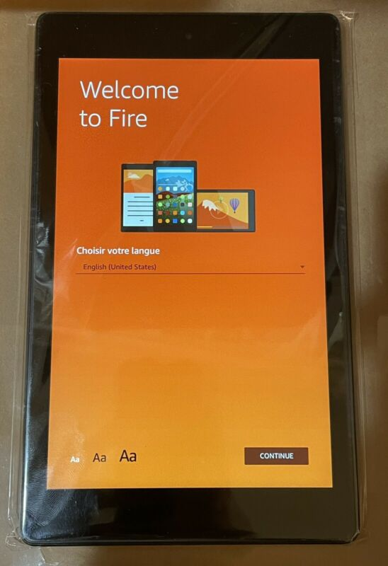 Amazon Fire HD 8 16 GB, Wi-Fi - Black