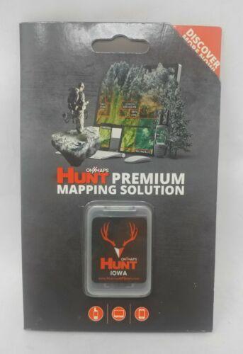 onXmaps HUNT GPS Chip for Garmin Unit + 1-Year Premium Membership, Iowa 208988