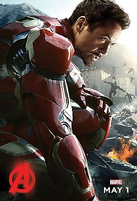 Avengers 2 Age of Ultron  Movie Poster  - Iron Man Robert Do