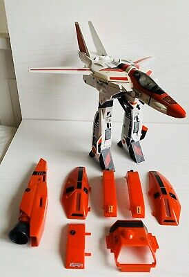 1985 Transformers Jetfire G1 Airplane Jet Incomplete (Have Most Armour)