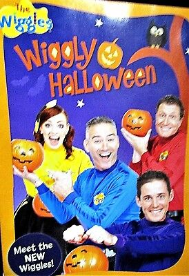 Halloween The Movie Songs (The Wiggles: Wiggly Halloween NEW! DVD, Sing alongs,Perfect  Treats, 20 Songs)
