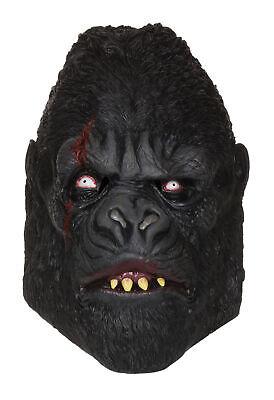 Herren Halloween Party Zombie Gorilla Gummi Maske Kostüm - Zombie Gorilla Kostüm