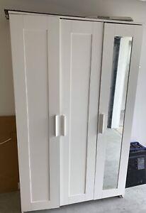 SOLD door white wardrobe