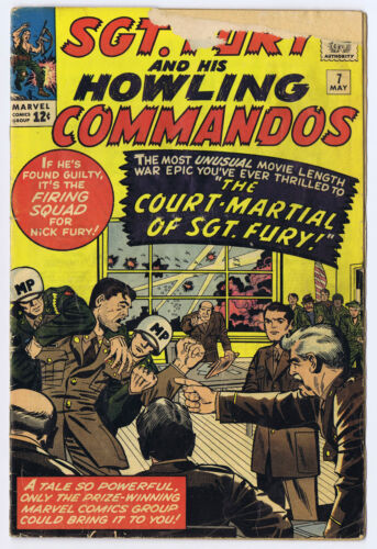 SGT Fury and His Howling Commandos  7-9