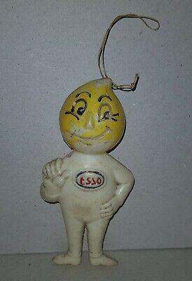 vintage ESSO Mascot ARGENTINA Advertising figure 1970 Plastic toy