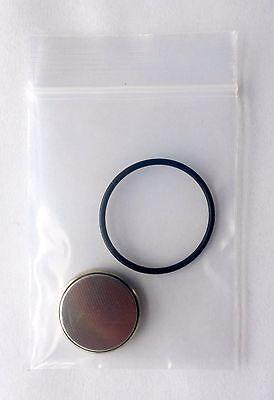 Batterie + O-Ring für Scubapro / Uwatec Aladin One,Sport,Prime,Tec,Tec 2G,3G