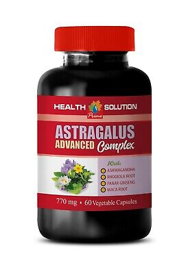 natural blood pressure, Astragalus Root Complex 770mg, anti aging supplement
