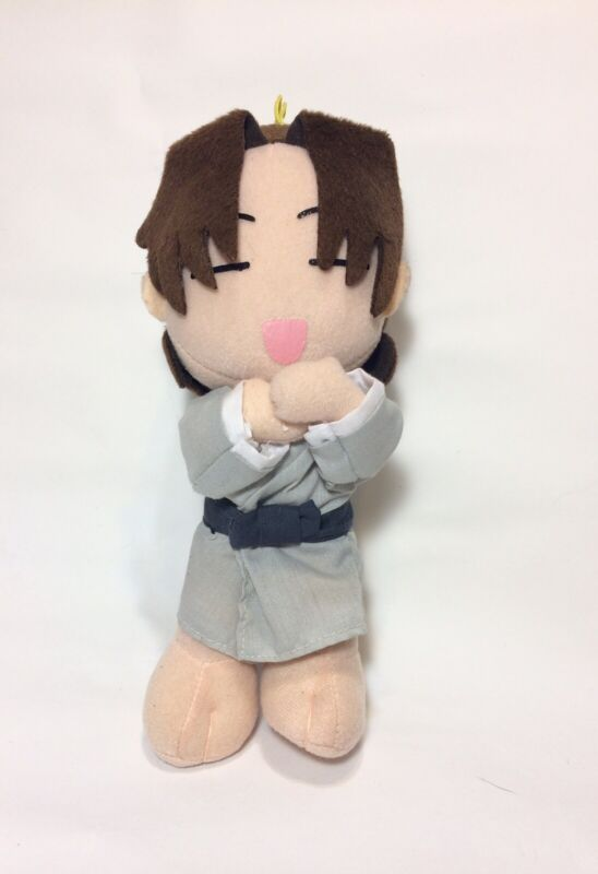 """VTG 2001 Fruits Basket Shigure Sohma 8"""" Funimation Plush Stuffed Toy"""