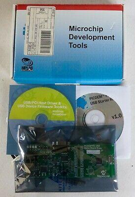 Microchip Development Tools Picdem Fs Usb Demo Board Dm163025 For Pic18f4550 New
