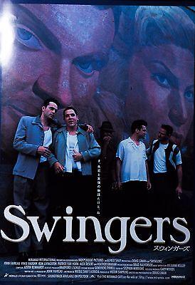 Swingers 1996 Vince Vaughn Comedy Japanese Mini Poster Chirashi Japan B5